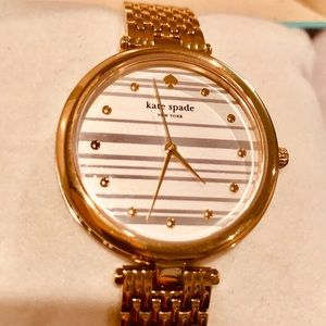 ♠️ Brand new Gold - tone Kate spade women watch